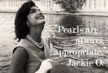 Pearls are always appropriate