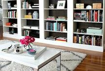 Stylish Bookcases / For those that know that books are a work of art!