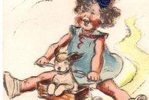 CHILDREN'S VINTAGE ILLUSTRATIONS