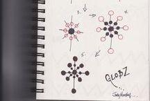 Tangle Patterns  - G - H - I - J