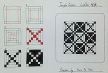 Tangle Patterns - K - L - M