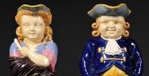 Major Victorian Majolica from the British Isles / 19th C. Majolica from Minton, George Jones and Wedgwood. Other companies have been moved to other boards, based on size and geography.