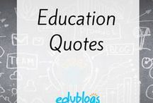 Educational Quotes / Quotes and images you can use with students or add to blog posts. Free to use.
