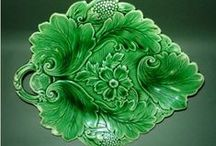 Green, Plates and Table Wares