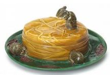 Fun and Funny Majolica / One of the great appeals of Victorian Majolica is the sense of humor used in many of its objects. Lots of animals. Lots of puns. Lots of little dramas. Some cultural history. Enjoy!