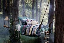 Exclusive Napping Spots / When you figure out how to teleport, teleport to these places, take a nap, read, relax, recharge and then teleport back. And never tell anyone. Ever.