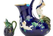 Minton / Exclusively Minton. Majolica and related ceramics.