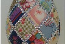 Húsvéti apróságok / textilből