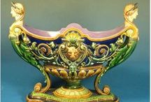 Swedish Majolica / To date, only Rorstrand and Gustafsberg have been researched.  We hope that other companies will come to light, as these two made wonderful Majolica.