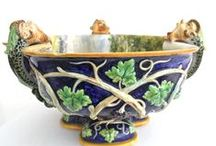 Italian Majolica / Italian Majolica is a complex subject because there is confusion about the difference between Majolica and Maiolica. Much of Italian Majolica is tin, not lead glazed, which indicates a different process. Furthermore, some Italian companies have been in business for centuries, depending on their traditional models, so it is often difficult to date some of their products. So, we go slowly in this area.