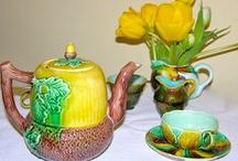 Home. The Simple Pleasures of Majolica / Mix it up. Old and new. These affordable pieces, to love and use,  provide the new collector with a comfortable introduction to the multifaceted world of Majolica.