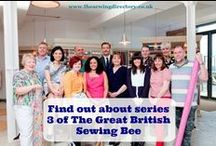 Great British Sewing Bee / Any information and makes related to GBSB!!!! See Season 3 on www.bbc.co.uk or visit YouTube and put it in the Search Box. / by Mary Stern