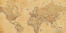 Travel / Op dit 'Travel' bord vind je alles in het thema reizen, zoals travel posters van steden als Londen, Parijs en New York, maar ook de mooiste landkaarten en wereldkaarten of mokken, deurmatten en sleutelhangers in het thema reizen!