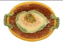 Majolica Platters, Trays, Chargers
