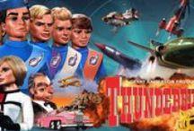 GERRY ANDERSON part 1 / PUPPETS-VEHICLES-VILLANS-from thunderbirds-captain scarlet-joe 90