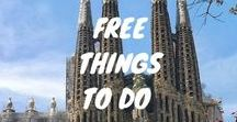 Barcelona, things to do / Things to do and see whilst in Barcelona