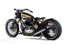 MOTOR BIKES / OF ALL AGES AND DESIGN