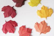 Origamis e Kirigami