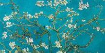 Kunst / Banksy, Guus van Eck, Loui Jover, Van Gogh... Op dit bord de leukste items van grote kunstenaars.