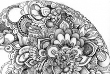 Art - Intricate Arts / Doodles, zentangles, linear, concentrated, focused, intricate, beautiful, breath-taking, involved art. / by David Sarenco