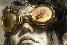 Steampunk  / Strange, but familiar, imaginary world. / by David Sarenco