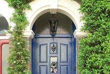 London Doors / Iconic Steel Doors Covered In Luxury Wood