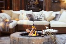 Outdoor Living Ideas I love / Decorate your outdoor spaces! DIY decor projects, garden planters, outdoor lighting, outdoor furniture, gazebos, decks, patios and porch decor ideas. / by Setting for Four