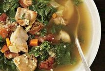 """Soups On! / """"I live on good soup, not on fine words."""" ~ Moliere"""