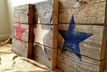 Wood  Pallets / Some of the best ideas...I love all of these!