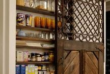 Pantry / Awesome ideas for the kitchen pantry!