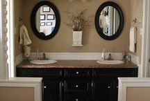 Bathroom Ideas / I love all of these different posts.   And I have 3 bathrooms to redecorate.  So I can really use all of these great ideas!
