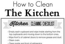 Cleaning tips / Tips and tricks to clean your spaces. / by Setting for Four