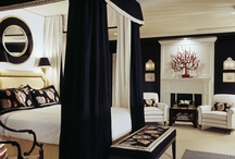 Black Interiors / Black spaces that look bold not bleak! / by Setting for Four