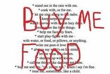 Quote Happy / Musings on food, life, and living well... with food