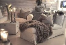 Winter Decor / Winter decor ideas for the home. / by Setting for Four