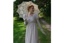 1840  Regency Era Fashions and Lifestyle / A lovely collection of Regency Era inspired fashions. Blanches Place brings to life the romantic Regency era in fashions Jane Austen would have loved