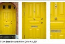 Security Doors / Our front doors never compromise on security or style.