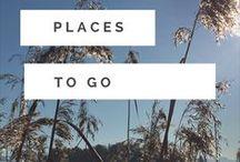 Places to go / #Places to go. Tolle Orte, faszinierende #Regionen, spannende #Städte an die es sich lohnt zu fahren, zu #reisen, sie zu #erleben