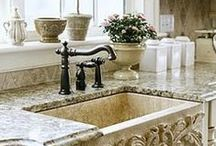 Gourgeous kitchen sinks! / by Stearns Design Build