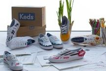 Keds Style Project / We invited a group of vloggers, bloggers, artists and designers to create their own take on our iconic Champion Original sneaker. The result was a diverse collection of shoes representing each woman's personal style.  / by Keds