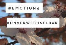 Emotion4 / Emotion4.... das bedeutet Reisen, Blogger Relations, Influencer Marketing, Microinfluencer aber auch Workshops, Blogger Kampagnen und wirkungsvolle Ideen in Sachen Kommunikation, gerne auch 4.0. #Emotion4 ist #unverwechselbar :-)