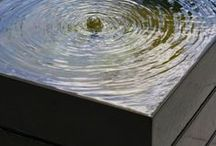 Water / Inspiration for the use of water in the garden.