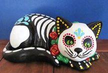 Dia de los muertos (Day of the Dead) mexican folcklore / by lillidel