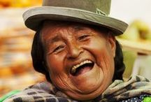 People of Bolivia / Despite the poverty that abounds in this beautiful country, the friendliness and happiness of the locals is truly inspiring
