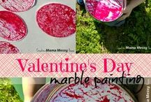 Valentines Day Ideas for Kids / Kid-friendly Valentine's Day ideas, crafts, activities, and sensory ideas. Printables and valentine's day cards. Easy crafts that kids can make and enjoy.