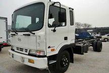 Шасси грузовое / Колесное шасси для монтажа оборудования и надстроек