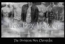 The Hex Boys / Hot Hex Boys / by A&E Kirk, Authors of Young Adult Fiction