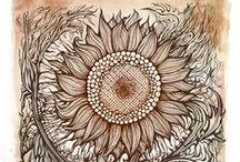 Doodle, Zentangle, Mandala
