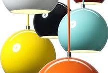 Lighting: Bright and Trendy / Colourful and trendy lights.