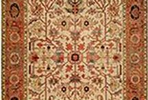 Serapi Heritage Collection / Hand-knotted in India with the softest 100% wool pile, HRI's Heritage Serapi collection emulates the original antique coloration and designs found in the most famous Serapi designs ever created. Traditional elegance and class is on display in these fine quality area rugs.
